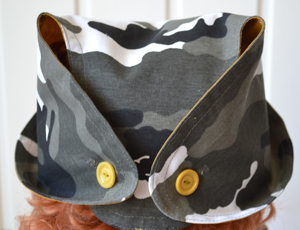 How to make Childs Summer Hat, step 19