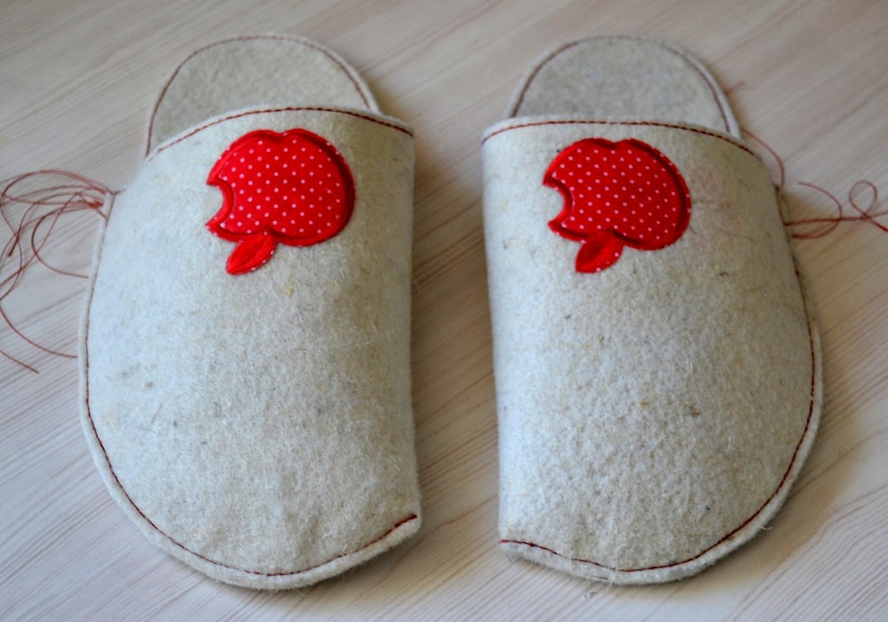 How to Make Home Slippers | Free Slipper Sewing Pattern