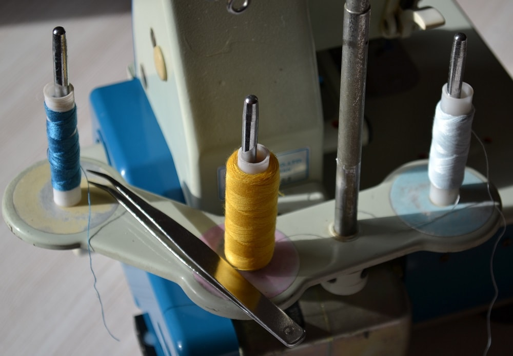 Threading the Serger, view 3