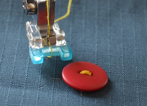 How to Sew on Buttons with Sewing Machine