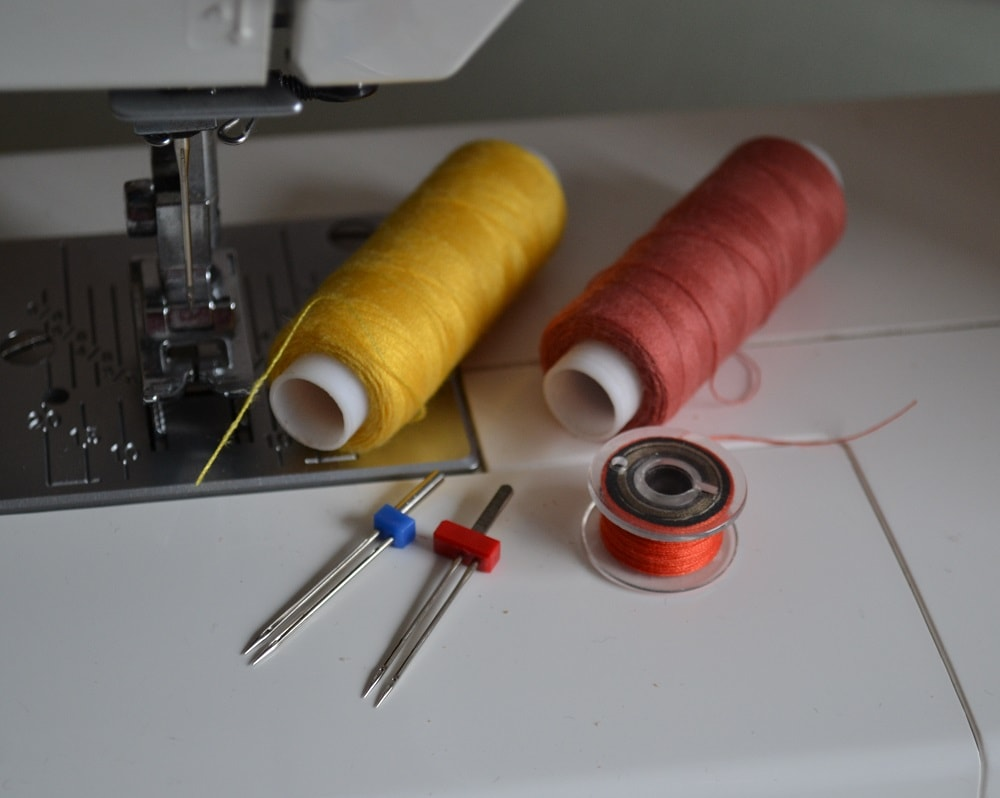 How to Use a Twin or Double Needle