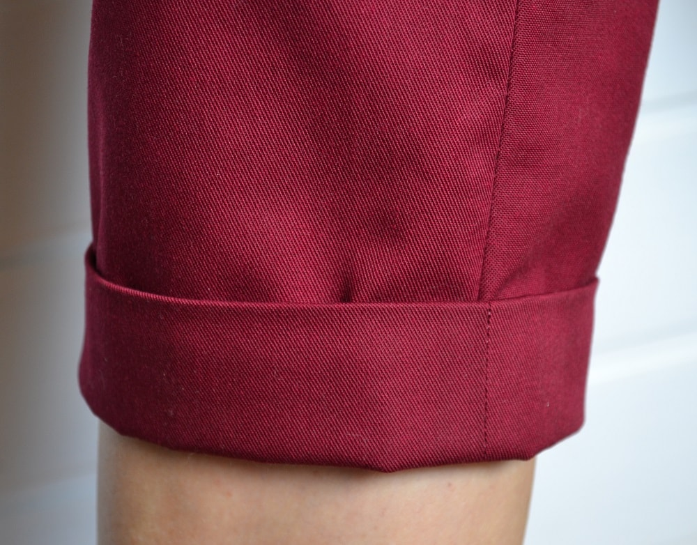 How to Add a Cuff to the Pants or Sleeve, step 13