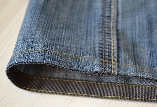 How to Hem Jeans with Kick Tape