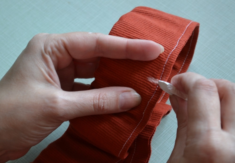 How to Make Jersey Womens Shorts, step 26