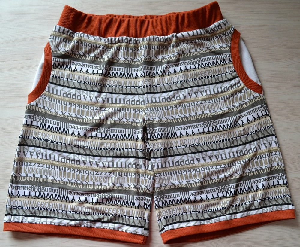 How to Make Jersey Womens Shorts | Shorts Sewing Tutorial with 30 Photos