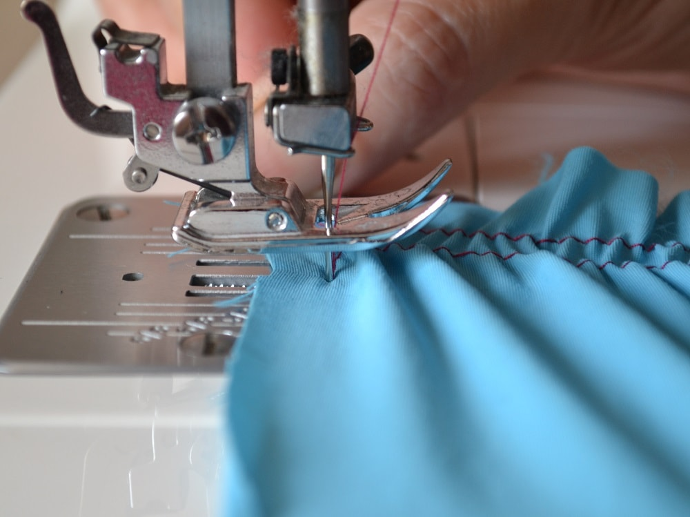 How To Sew With Elastic Thread Shirred Skirt And Dress Tutorial Awesome Elastic Thread Sewing Machine